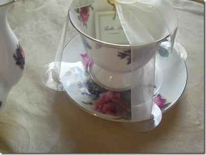 Matching teapot gift tea 003