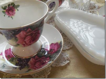 Matching teapot gift tea 020