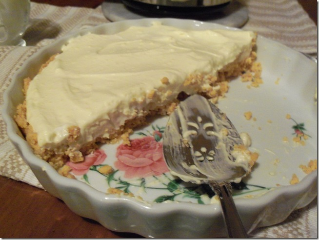 Sugar free banana cream pie 012