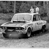 XJB305H in post World Cup Team Castrol days - Brian Culcheth did just three rallies in this car  in 1971 so this is either the  Welsh, the Scottish or the Cyprus Rally. As he had a couple of accidents on the Scottish I think that's where this picture was taken judging by the damage.