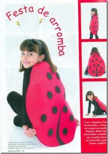 disfraz de mariquita sencillo (2)