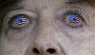 American Flag Lens