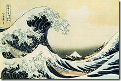 "Кацусика Хокусай. ""Большая волна в Канагаве"", 1832 г."