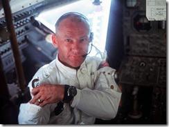 Базз Олдрин - второй человек, ступивший на поверхность Луны (фото NASA).