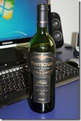 Хорошее вино Montecillo Gran Reserva 2001 года, но нам с ним в этот раз не повезло. :-(
