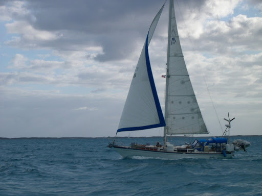 Good solid cruising boat. Sailed in the company of one from Michigan for ...
