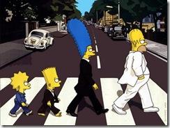 O Bart não é canhoto?