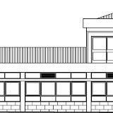 Alçado Lateral Esquerdo Edifício C
