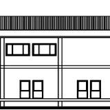 Alçado Principal Edifício A
