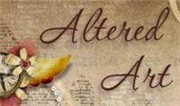 """Челлендж-блог """"Altered Art"""" с заданиями по альтернативному и прикладному скрапбукингу"""