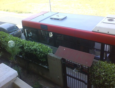 Autobus parcheggiato