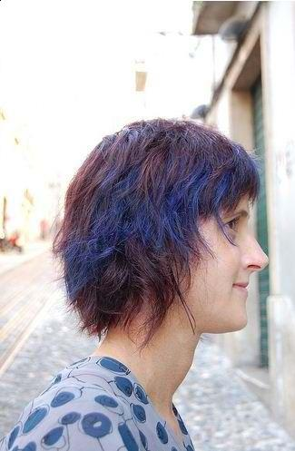 blue purple halo 2010 hairstyle