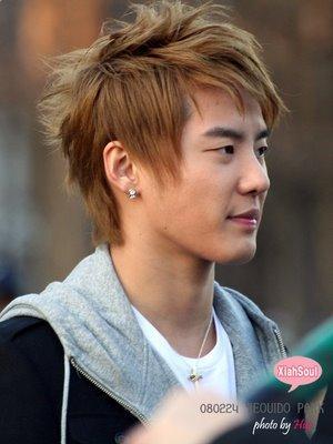 Kim JunSu Hair styles