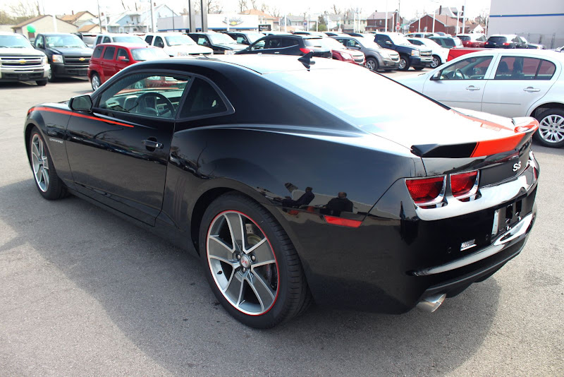 2010 Camaro Slp Zl575 Black W Orange Double Stripes Lots O Pics Camaro5 Chevy Camaro Forum
