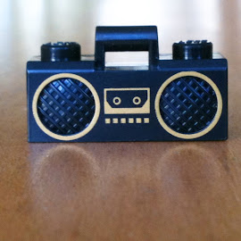 by Bill (THECREOS) Davis - Artistic Objects Toys ( tiny, beat box, toy, radio, thecreos, box, boom, boombox, lego,  )