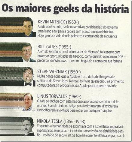 Os maiores geeks da história - Revista Mundo Estranho - Os caras que mudaram a historia da informatica
