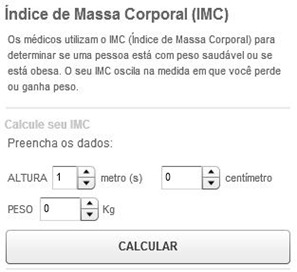 calculadora do peso ideal obeso magro saude bem estar globo - witian blog