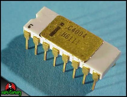micro processor pertama