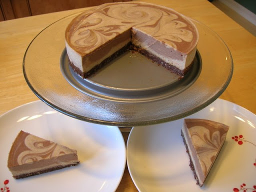 Chocolate Chai Spiced Cheesecake with a Chocolate Cookie Crust ...