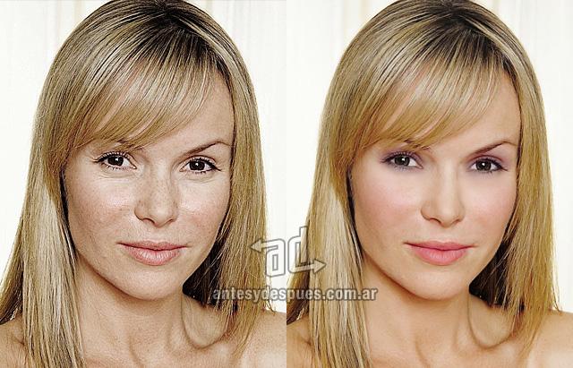 Amanda Holden sin Photoshop