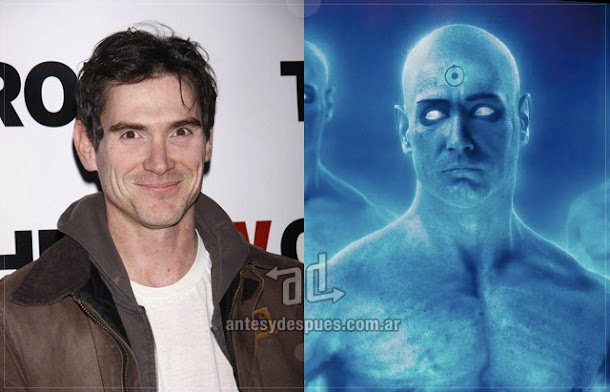Billy Crudup sin máscara