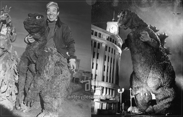 Haruo Nakajima I live in japan and today I went to see the new Godzilla