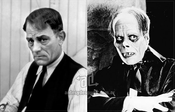 Lon Chaney sin máscara