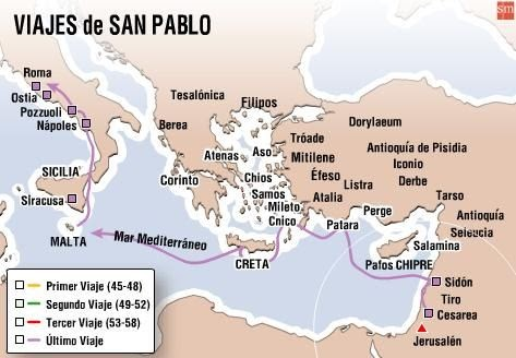 Blog educativo viajes de san pablo for Cuarto viaje de san pablo