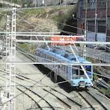 mireya lopez. obras en las vias de euskotren a la altura de etxebarri para construir una nueva parada de metro
