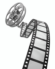 flying-film-reel
