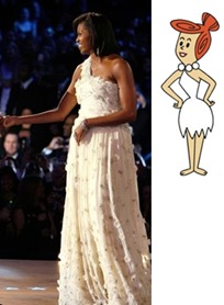 michelle-obama-wilma-flintstone