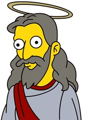Simpsons-Jesus-by-Matt-Stone