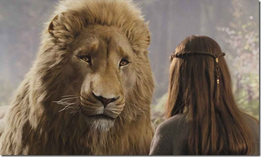 Lucy and Aslan