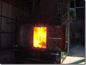 furnace fire