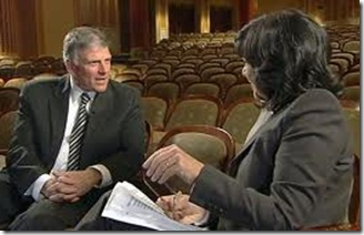 Rev. Franklin Graham interviewed by Christiane Amanpour, ABC This Week