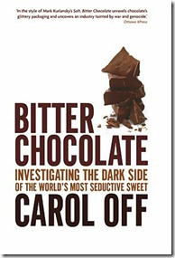 Click here to see Amazon listing for Bitter Chocolate by Carol Off