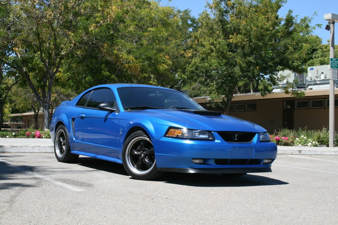 Pic Request Modded Bright Atlantic Blue 99 04 Mustangs