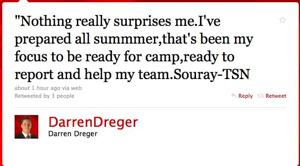 Twitter : Darren Dreger:
