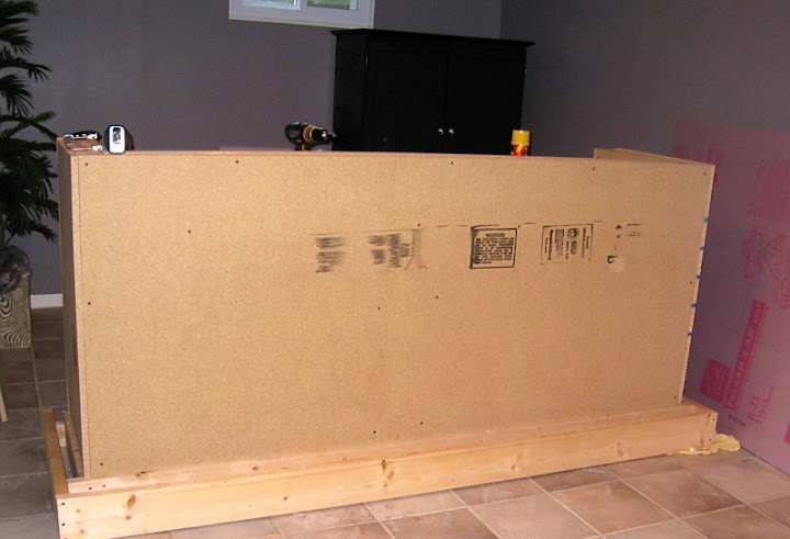 Decorating Obsessed Man Cave Bar Side Paneling