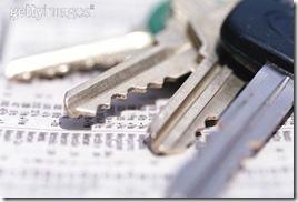 key on paper