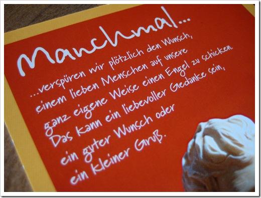 Postkarte von Tanja