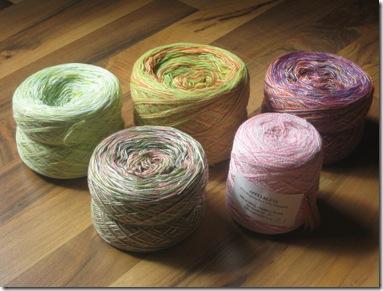 Wolle von Sandy