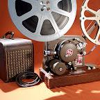 movie projector sound