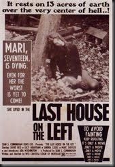 the last house on the left poster 1972