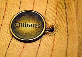 Emirates cabin crew uniform