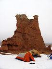Our camp between Goblin Valley and Little Wild Horse
