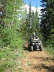 Riding on Gentry Ridge