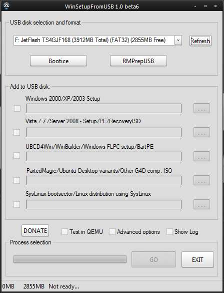 Установка Windows с USB флэшки