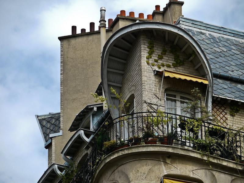 Paris: Jardins - Facades P1000650