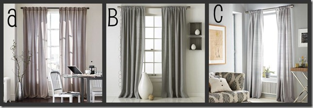 curtain collage